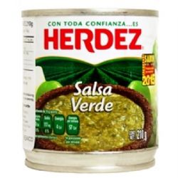 Mexican Green Sauce 210g | Herdez | Salsa Verde | Buy Online | UK | Europe